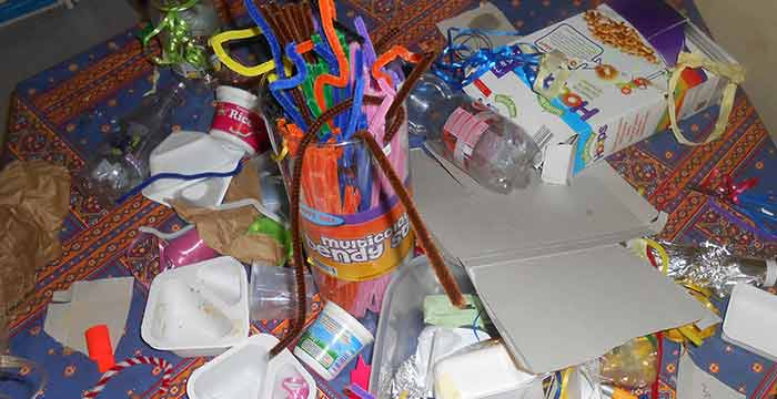 buncrana school recycle into art